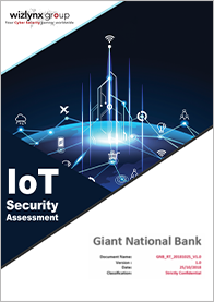wizlynx group IoT Security Assessment Report