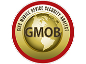 Test d'Intrusion | GIAC Mobile Device Security Analyst | GMOB
