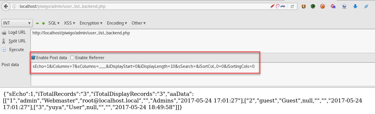 wizlynx group | SQL Injection in Piwigo