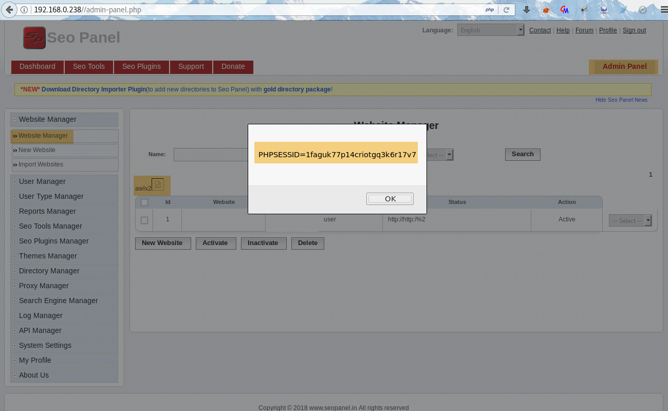 wizlynx group | Stored Cross-Site Scripting (XSS