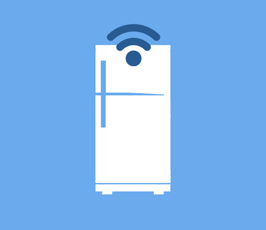 IoT Fridge illustration