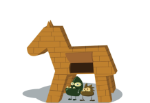 Banking Trojan Illustration
