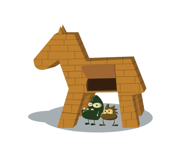 Banking Trojan Illustration