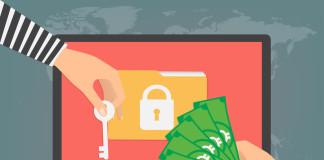 Ransomware illustration