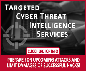 Cyber Threat Intel Ad